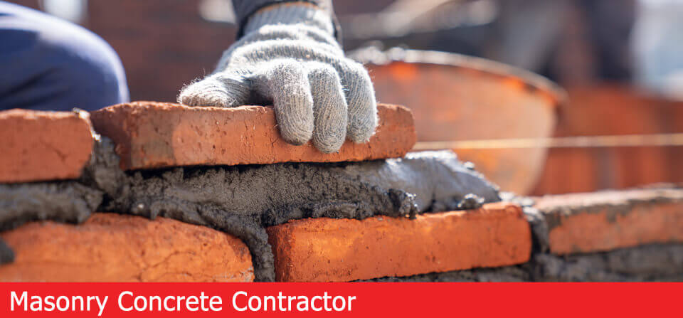 masonry concrete contractor