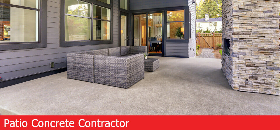 patio concrete contractor